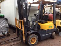 TCM gas 1.5ton forklift with side shift
