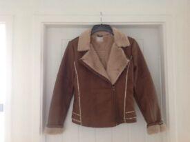 Ladies Tan Jacket