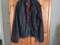 Mans Superdry Leather jacket.