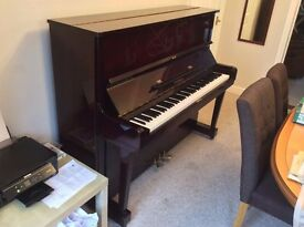 Upright Pruthner Piano for sale - three pedals, good condition, £995