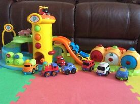 Early Learning Centre Garage, mini garage and car vehicles