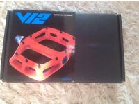 DMR V12 pedals, new, unused