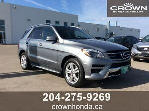 2012 MERCEDES BENS ML-350 BLUETEC - LOCAL TRADE!