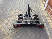Brand New bike carrier for 3 bikes.