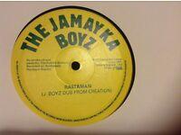 "REGGAE : JAMAYKA BOYZ - RASTAMAN ! 10"" SINGLE SIDED"
