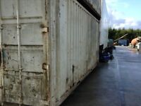 20ft x 18ft container for storage or on sight container also fuel storage tanks diesel bowser