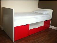 Kids 'Cabin' bed with built in storage