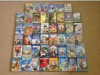 46 Kids DVD's Bundle