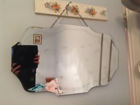 attractive hanging mirror with imperfections £8