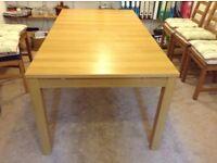IKEA BJURSTA extendable dining room table