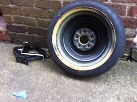 2004 Mazda 6 Space Saver Wheel with Car Jack