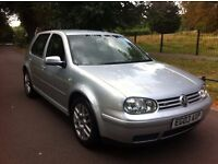 VOLKSWAGEN VW GOLF 2.3 V5 2003 EDITION, FULLY LOADED, LOW MILEAGE, 12 MONTH M.O.T, BARGAIN