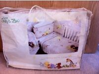 Nursery Baby Cot Bedding 2 Piece Set Quilt + Bumper