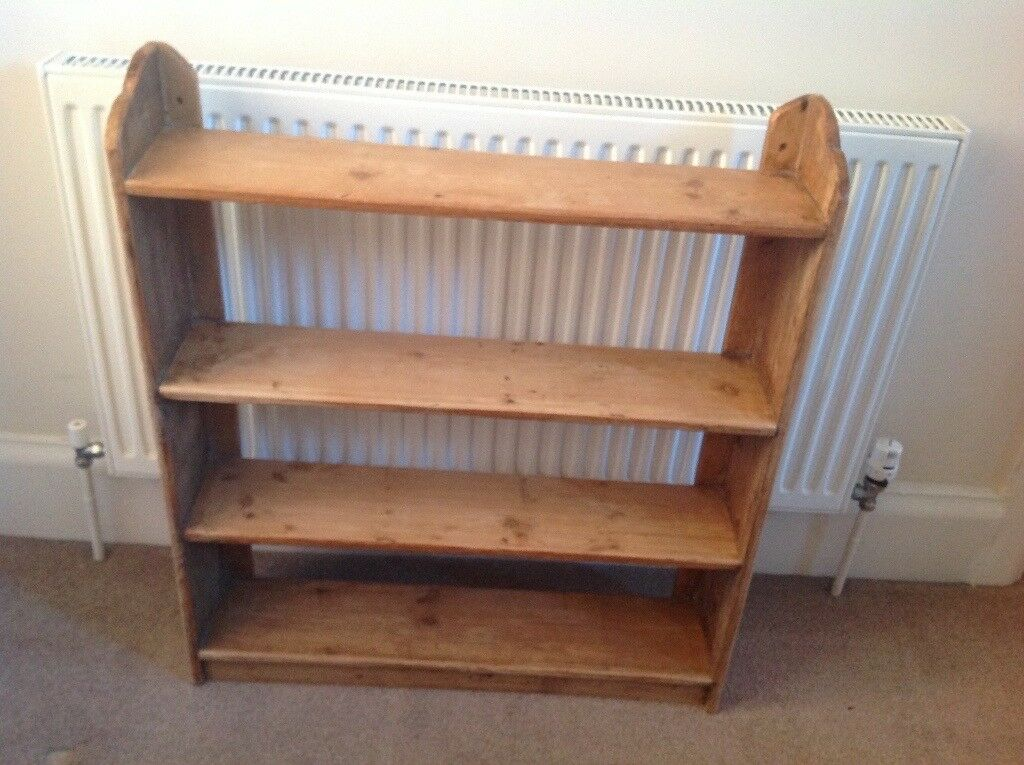Bookshelves Small Solid Wood Vintage In Bournemouth Dorset