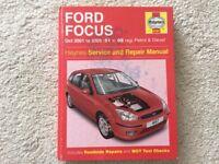 Haynes For Focus workshop manual