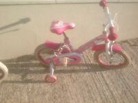 Girl's Hello Kitty 14 inch wheel bike