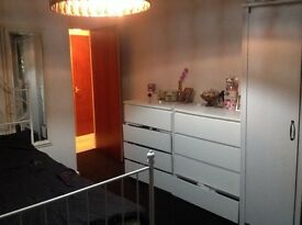 Nicely decorated clean Low rise flat 2 bed in ex for 2-3 bed house no time wasters!