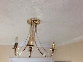 Set of Two Ceiling Lights