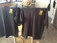 Brynteg sixth form polo shirts x2