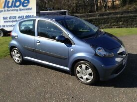 STUNNING TOYOTA AYGO £20 ROAD TAX LOWEST POSSIBLE INSURANCE GROUP NEW NO ADVISORY MOT AMAZING CAR!!