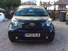Toyota IQ2 in black in excellent condition. Full service completed 25/10/2016. Mot until 27/6/2017