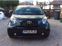 Toyota IQ2 in black in excellent condition. Full service history an mot until 27/6/2017