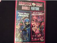 Monster high, double feature, DVD