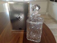 Crystal Royal Doulton decanter