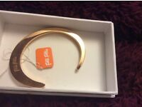 Folli Follie rose gold classy bracelet. BNIB