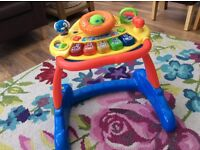 Vtech two in one musical walker in lovely clean condition