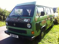 """*REDUCED* """"The Tank"""" VW T25 1983 Watercooled 'Camping D' 1.6 Diesel (non-runner)"""