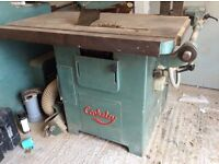 Woodworking machine Cooksley rip saw