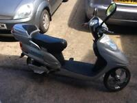 Battery operated moped