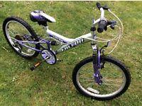 Childs 6 speed bike