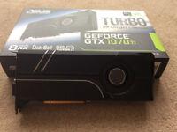 ASUS Turbo GeForce GTX 1070 Ti 8GB GDDR5X Graphics Card