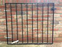 Wrought Iron Garden Gate 1018mm h x 880mm w, Brand New unused condition. Black. With Fixings
