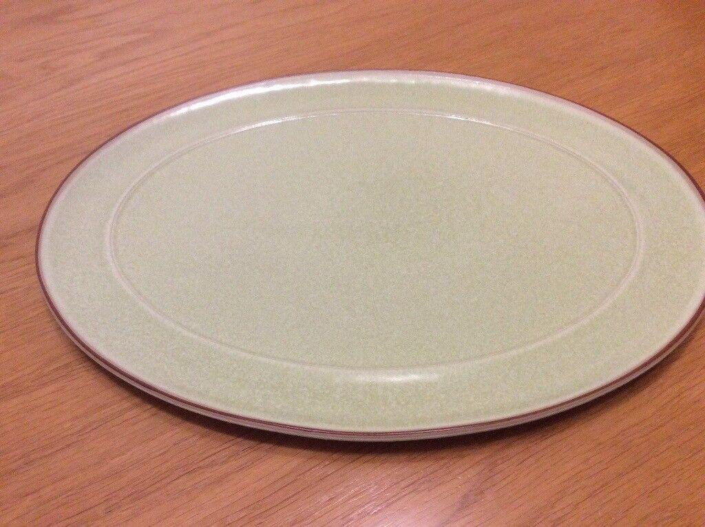 Denby Juice oval serving platter 37x27cm