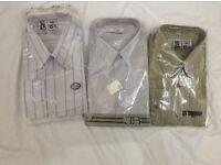 Men's shirts 15.5 size NEW