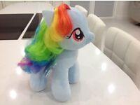 Build a Bear Rainbow Dash