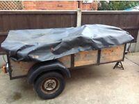 Car trailer .