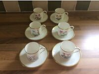Royal Worcester Coffee Cups