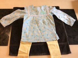 New with Tags Girls Monsoon Top and Legging Set Age 2/3 years £10.00