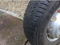 Mitchelin tyre 225/75/16 brand new still on rim £50 local pick up