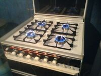 Gas cooker,600 MM. wide,pristine condition,£95.00