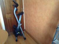 PRO Fitness foldaway excercise bike
