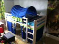 Thuka kids mid sleeper cabin bed
