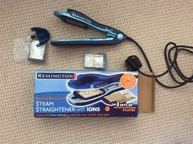 Remington Steam Straighteners with Ions boxed