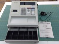 RESERVED - Sharp XE-A107 Electronic Cash Register (and instruction manual)