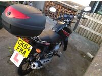 Hyundai YBR 125 for sale! Fantastic Bike, hardly used, learnt on, time to sell.