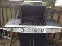Gas BBQ with gas bottle for free